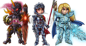 Soul Calibur IV: Chibis Set 2 by Lukael-Art