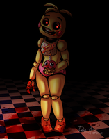 FNAF 2 - Toy Chica. by DrawDiverse2015