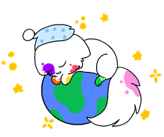 Asleep on the Earth by Hyper-Kitteh