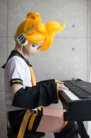 kagamine len vocaloid kigurumi cosplay by cocoa-box