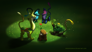 Flytrapdog meeting by SpaceDog500