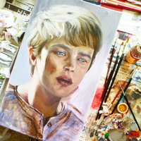 Dane Dehaan WIP5 by Casimira