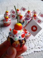 Cupcakes for Japan by kawaiifriendscafe