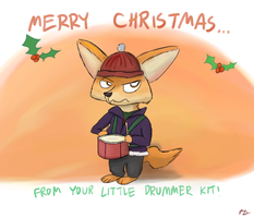 ZT: Little Drummer Kit (Merry Christmas!) by PacificGreen