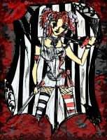 Early Opheliac:Emilie Autumn by DollyPrincess
