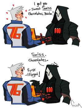 Reaper76 Valentine's Day coming by reborn-gp