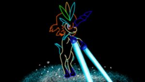 647 Keldeo resolute forme by XxGingerSharkxX