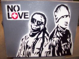 No Love by Stencils-by-Chase