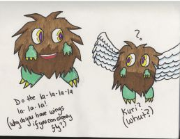 Lol Kuribohs by LeesNinjaPirate