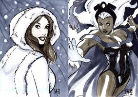 Sketch Cards by DRMoore