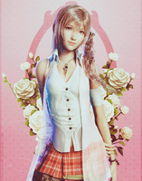 Serah picture by TifaxLockhart