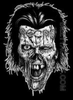 Necro zombie t-shirt design by billytackett