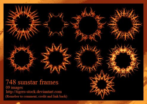 748 Sunstar Frames by Tigers-stock