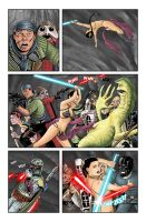 Leia VS Jabba 2 by Buzz-On