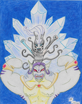Tritannus and Icy (Winx Club) by skylermaniac