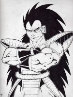 Raditz by Kid-Destructo