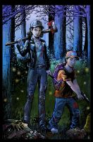 The Walking Dead Color Commission by KR-Whalen