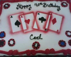 poker fun cake by nlpassions
