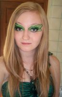 Poison Ivy Costume Makeup by Kaikoura