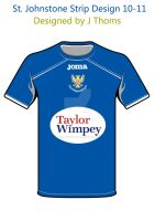 St. Johnstone Home simple by BackwardsAngel