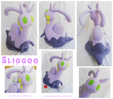 Giant Sliggoo Plush by Fox7XD
