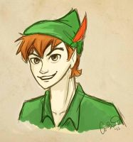 peter pan by compoundbreadd