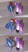 R-DASH 5000 V2.0 and Dr Twilight Sparklestein WIP2 by coonk9