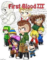 First Blood pt 3 by AskHeffer