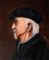Old guy with Hat by trixxx