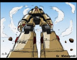 Mecha in Perpective by Haraigoshi