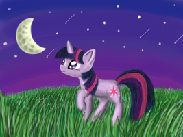 Twilight Sparkle (Drawn with iPad) by xLilian