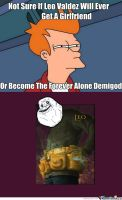 Forever Alone Leo by PJOfan22