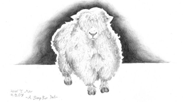A Sheep for Dafna by ArchUriel