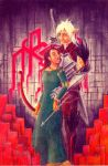 Fenris and Althaea by AG-sArt