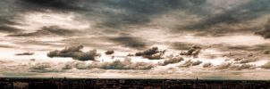 Post-apocalyptic sky by alchemyster