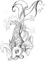 koi fish ideas by gothicsushi