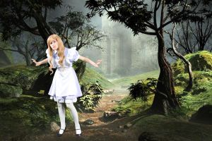 Alice in Wonderland by Emmaliene