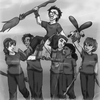 Quidditch Victory by ptite-ane
