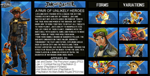 The Crossover Game: Jak and Daxter Bio by LeeHatake93