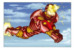 Iron Man by vrm1979COLORS