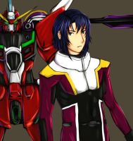 GSD - Athrun and Ijustice by buuzen