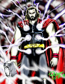 Thor Vintage Costume Colored by Nimrod-X
