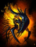Fire bug spitpaint by rob-powell