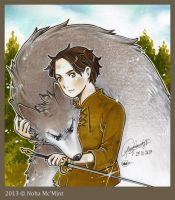 Arya of house Stark by BrunoMcMint