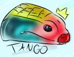 Tango the Fire Skink by dragonfloof