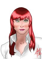 Mary Jane Watson by augustomp96