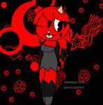 Demon The Porcupine by caitlinthehedgehog34