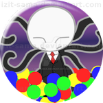 Slenderman in Ball Pit LIMITED EDITION by Izit-Sama
