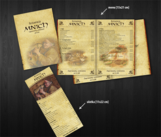Mnich Restaurant Menu by lukearoo