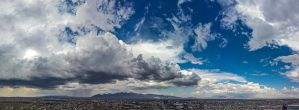 Tucson Landscape Panoramic by DreamMover